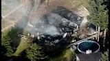 House destroyed in violent explosion - (12/25)