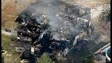 House destroyed in violent explosion - (25/25)
