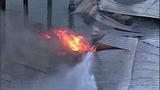 Flames destroy marina boathouses - (8/18)
