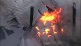 Flames destroy marina boathouses - (3/18)