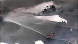 Flames destroy marina boathouses - (17/18)