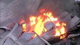 Flames destroy marina boathouses - (2/18)