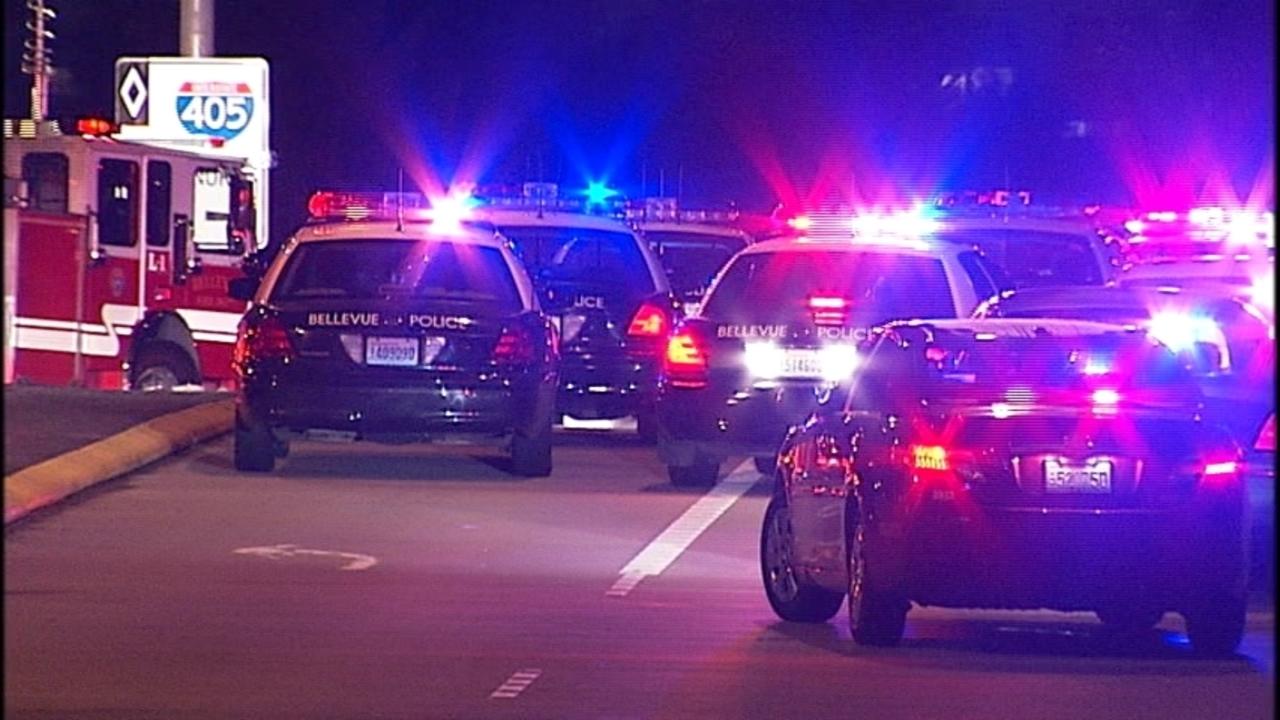 Fatal I-405 collision scene | KIRO-TV