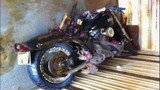 Japanese motorcycle found on Canadian beach - (1/6)