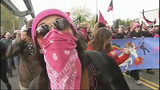 May Day protesters move through downtown - (25/25)