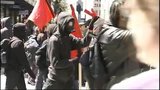May Day protesters move through downtown - (4/25)