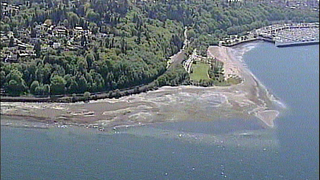 Sewer overflow causes Golden Gardens Beach closure