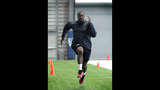Brian Banks' workout for the Seahawks - (3/3)