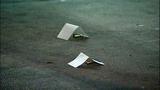 Bullet casings, evidence markers litter scene - (18/21)
