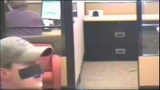 Bank robber uses tape as disguise - (6/7)