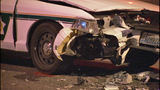 Cruiser, car crunched in wreck - (7/10)