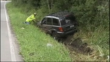 Pursuit in Brier caused a Jeep to run off the roadway - (9/16)