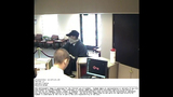 Bank robber caught on camera - (1/6)
