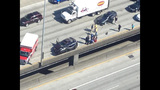 Car pinned on I-5 downtown_2139591