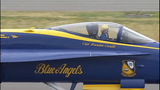 Blue Angels arrive for Seafair air show - (12/25)