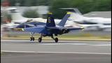 Blue Angels arrive for Seafair air show - (5/25)