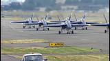 Blue Angels arrive for Seafair air show - (9/25)
