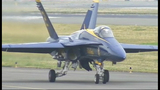 Blue Angels arrive for Seafair air show - (11/25)