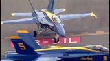 Blue Angels arrive for Seafair air show - (2/25)