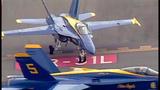 Blue Angels arrive for Seafair air show - (2/25)