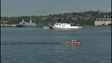 Fleet makes majestic trip across Elliott Bay - (3/10)