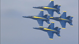 Images of Blue Angels from Aug. 2 practice - (7/11)
