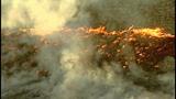 Flames race across Central Washington - (8/21)