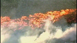 Flames race across Central Washington - (11/21)