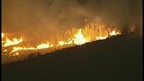 Flames race across Central Washington - (2/21)