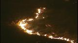 Flames race across Central Washington - (4/21)