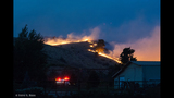 Amazing view of fire from home near Ellensburg - (5/8)