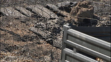 Wildfire leaves blackened path of destruction - (7/21)