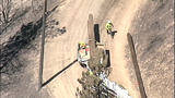 Chopper 7 PHOTOS: Crews battle Taylor Bridge… - (12/25)