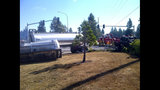 Driver killed in septic truck rollover - (1/5)