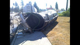 Driver killed in septic truck rollover - (2/5)