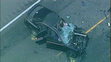 Vehicles crushed in 2-car Hwy 2 crash, Sept. 6 - (1/9)