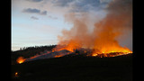 Lightning sparks wildfires in Wenatchee - (10/15)