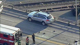 Car demolished in 4th Ave. S. bridge crash - (3/10)