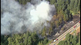 Fire closes Highway 3 in Kitsap County - (3/11)