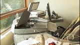Studio ransacked by compliant burglar - (2/11)