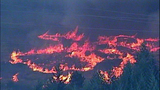 Fast-growing fire devours forest - (22/25)