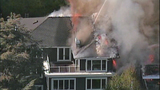 Raging flames devour adjacent homes - (3/21)