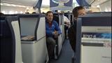Inside ANA Airlines Boeing 787 Dreamliner - (6/10)