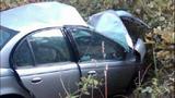 Cars mangled, woman killed in head-on crash - (1/4)