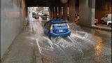 Cars, bikes splash through standing water - (6/8)
