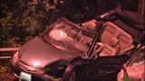 Violent head-on crash leaves cars mangled in… - (11/13)