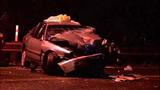 Violent head-on crash leaves cars mangled in… - (7/13)