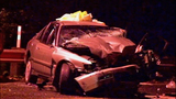 Violent head-on crash leaves cars mangled in… - (6/13)
