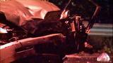 Violent head-on crash leaves cars mangled in… - (10/13)
