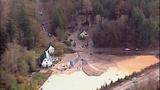Broken beaver dam floods homes, road - (1/20)